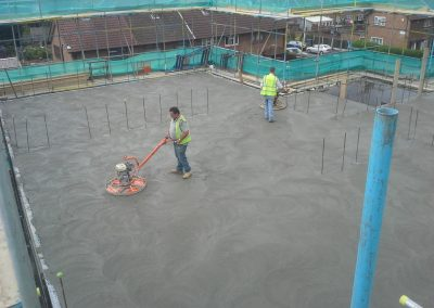 Second Floor Screeding