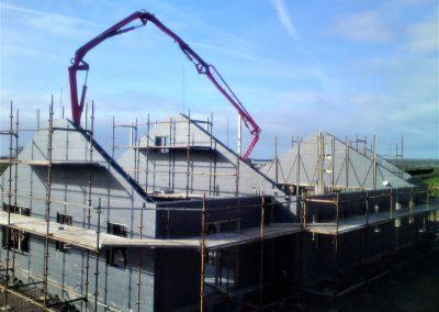 ICF Bungalow Concrete Pour