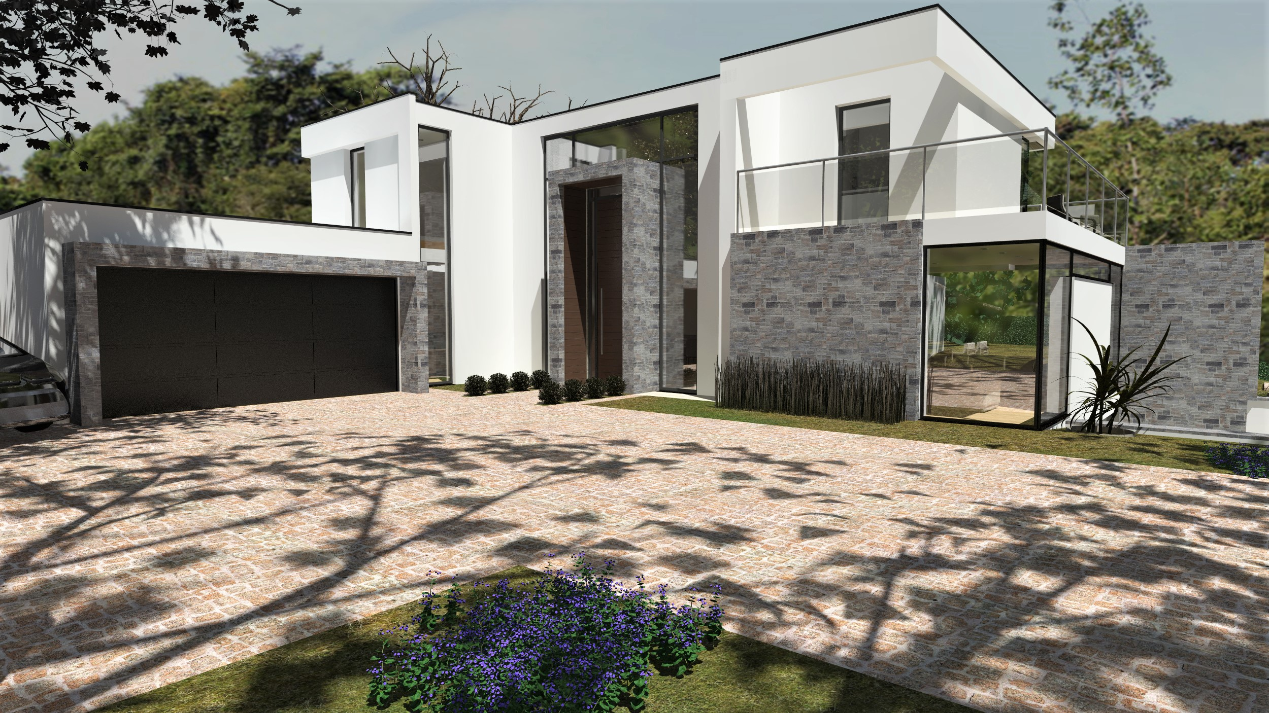 Modern 2 Storey Icf House Ascot Thermohouse