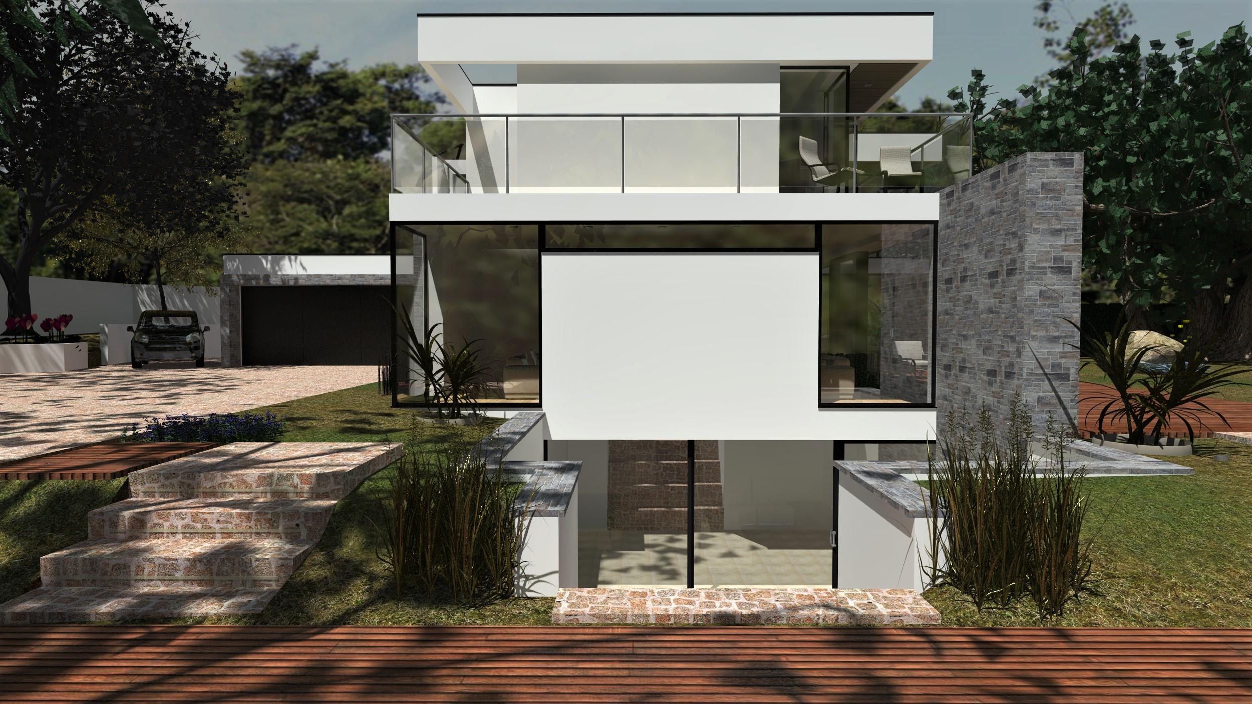 Modern 2 Storey Icf House Ascot Thermohouse