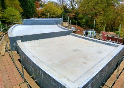Flat Curved Roof