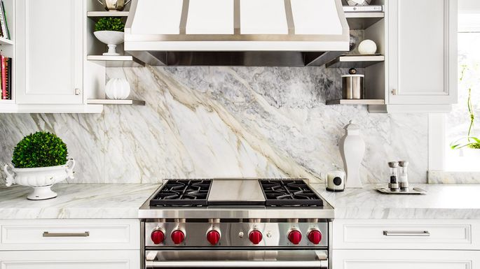This is an image of a kitchen design backsplash