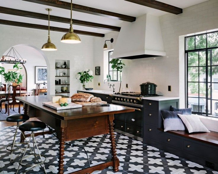 This is an image of bold patterns in interiors