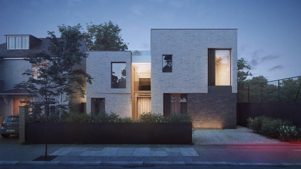 This is an image of a contemporary style house