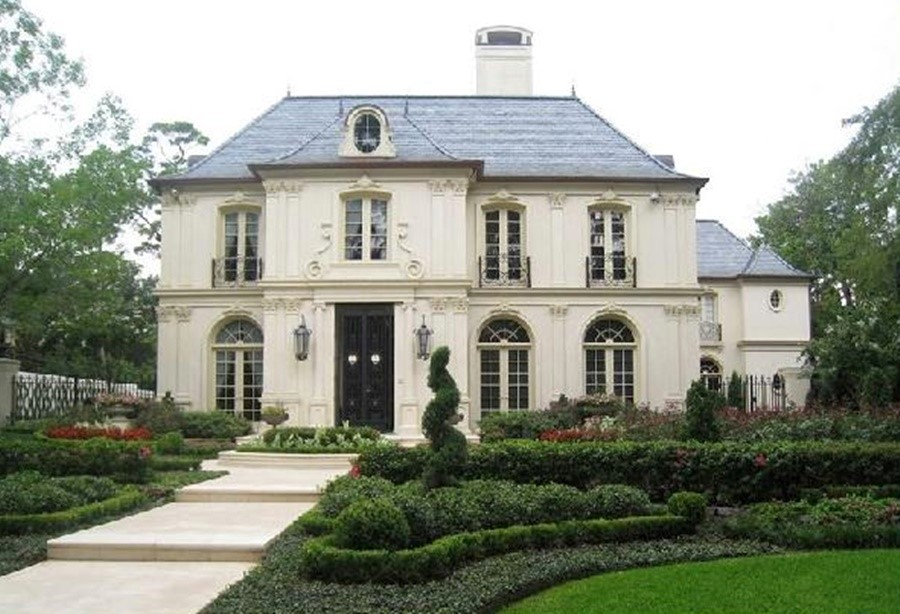 This is an image of a french style house design