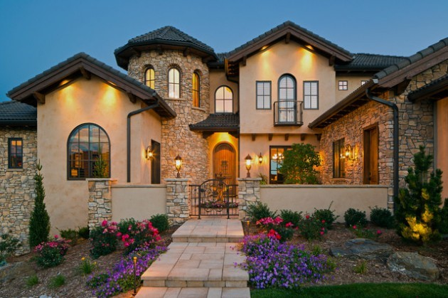 This is an image of a Mediterranean house style