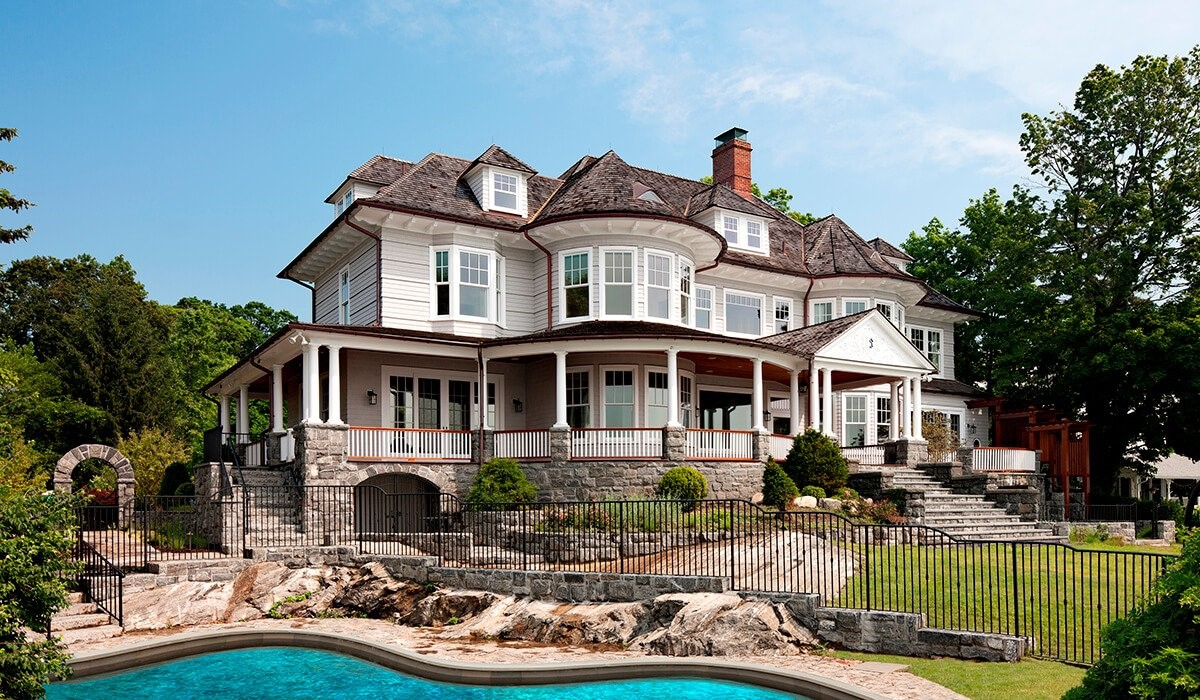 This is an image of the Victorian style house design