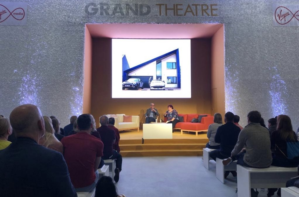 Thermoroof Panels as Featured by Kevin McCloud at Grand Designs Live 2019