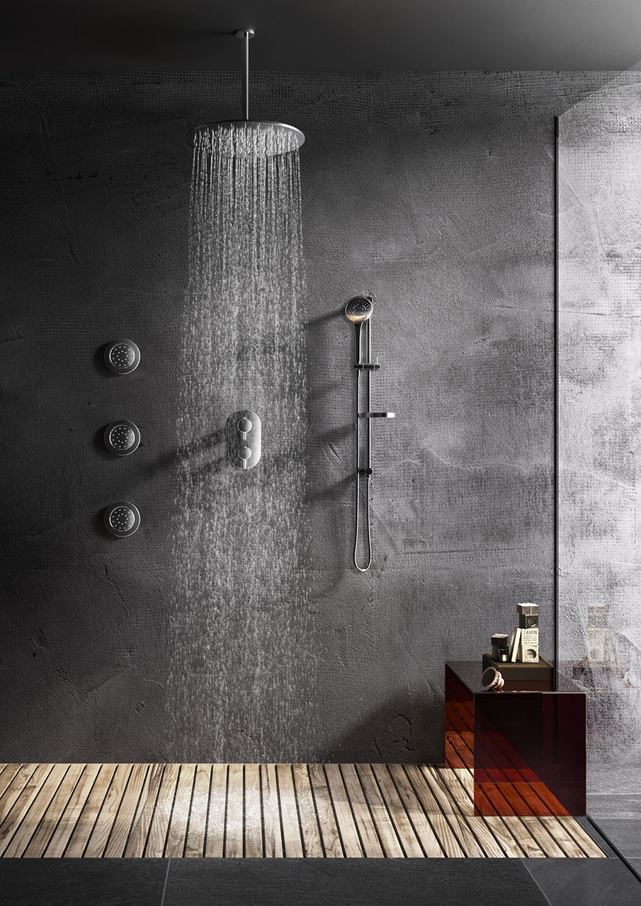 This is an image of a power shower